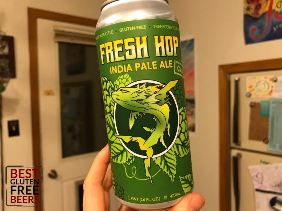 Ghostfish Brewing Cascade Fresh Hop IPA 2019 1