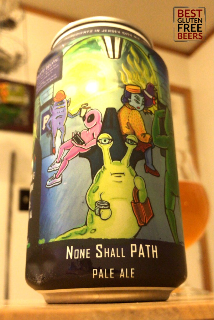 Departed Soles None Shall Path Pale Ale gluten free