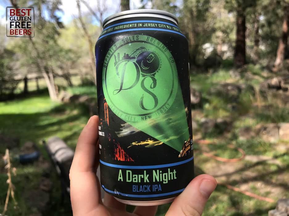 Departed Soles Brewing A Dark Night Black IPA
