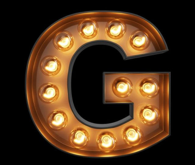 Your G Spot The Letter G In Lights