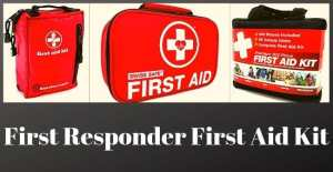 First Responder First Aid Kit