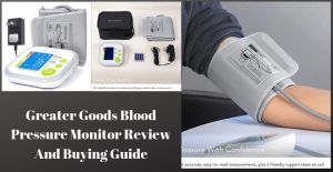 Greater Goods Blood Pressure Monitor