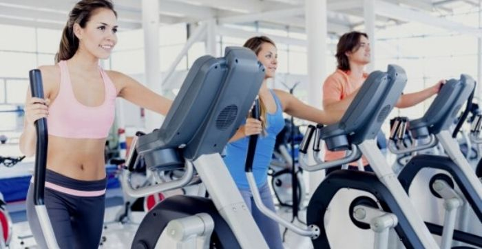 does the elliptical work your stomach