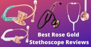 rose gold stethoscope