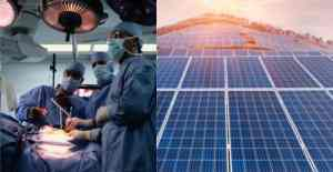 solar powering the medical
