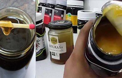fake honey determination