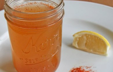 Cayenne Pepper Water Recipe