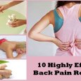 10 Highly Effective Back Pain Remedies