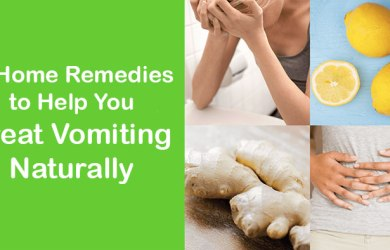 Home Remedies to Treat Vomiting