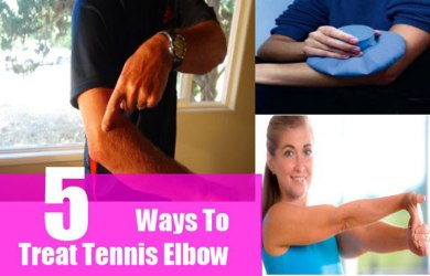 Natural remedies to treat tennis elbow