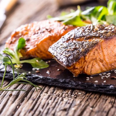 Blackened Rosemary & Lemon Salmon