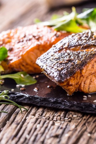 Blackened Rosemary & Lemon Salmon Recipe