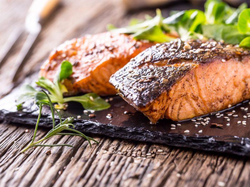Blackened Rosemary & Lemon Salmon Recipe