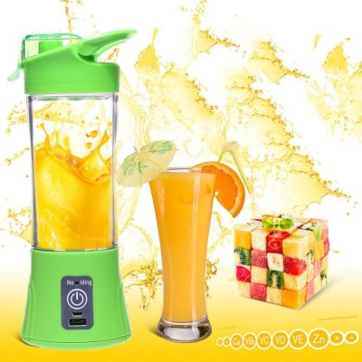 Portable USB Citrus juicer Machine Blender BottleCompact Rechargeable Juicer Bottle Household Travel Use Handheld Fruit Juicer