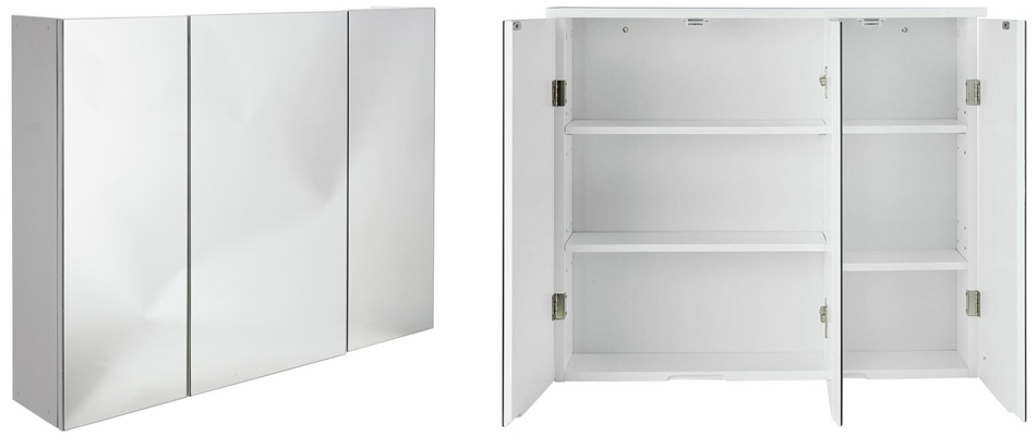 Top 10 Best Bathroom Mirror Cabinets Single Double And Triple
