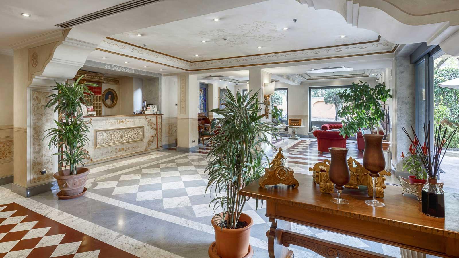 Hotel Villa San Pio, Rome Italy