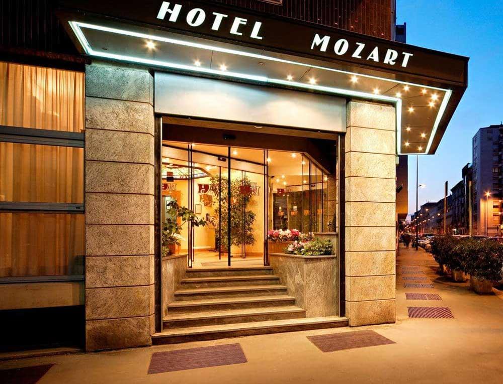 Hotel Mozart, Milan italy (Piazza Gerusalemme)