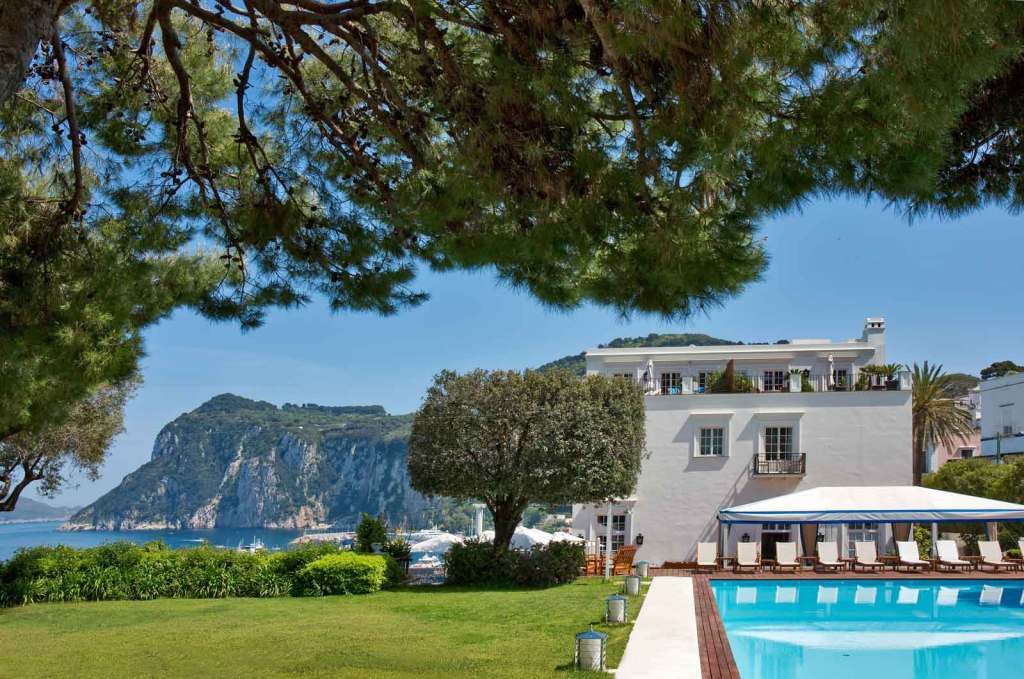 JK Place Capri Italy - luxury hotel with sea view and pool