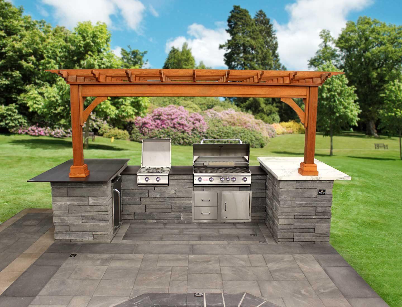 Custom Built In Kitchen Islands Best In Backyards