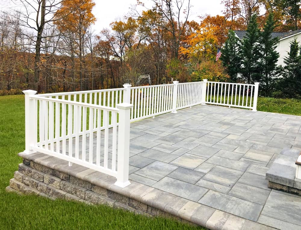 deck railing systems installation