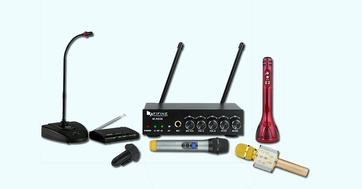 Top 5 Best Cordless Mic India 2021