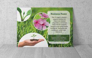 landscaping flyer