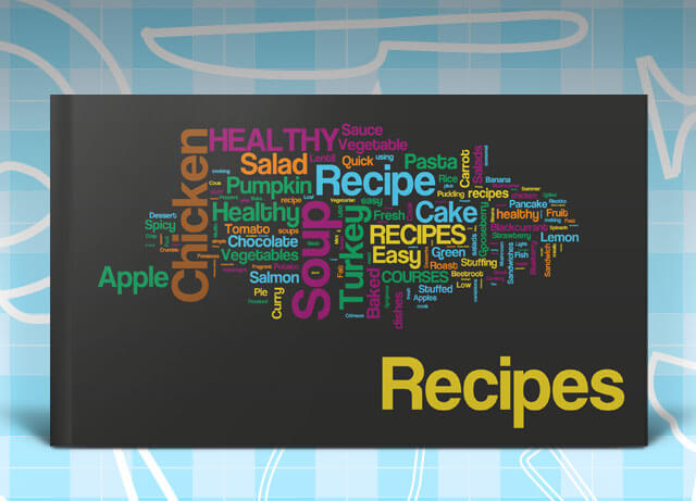 recipe book template is an indesign template that will help you in creating your own cookbook the design has a few nifty features