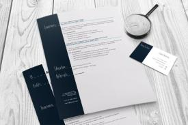 resume and business card magnify