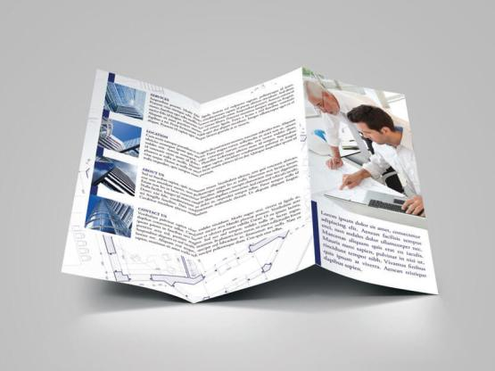 Architecture Brochure Template Make Your Own TriFold Brochure