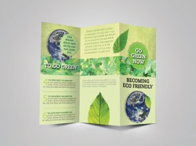 Green Brochure Template Preview Cover