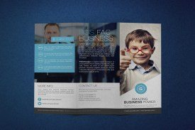 Global Business Trifold Outside Preview