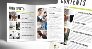 Automatic Magazine Table of Contents