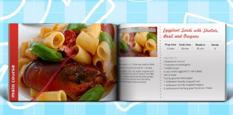 Cook Book Recipe Book Template 20 Sample pages for Recipes – Cookbook Template