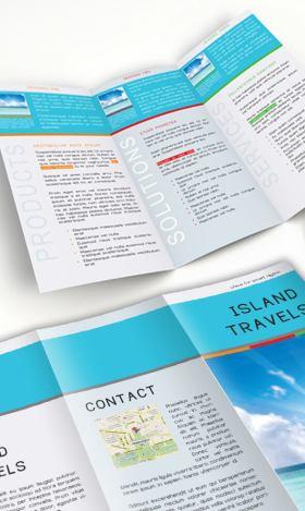 Free Brochures for Hospitality & Tourism | Creative Center