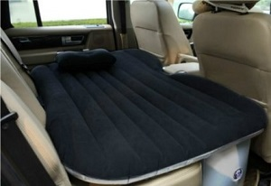 Heavy Duty Car Travel Inflatable Air Bed Seat Sleep Rest Mattress Suv Back Extended