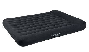 Intex Classic Pillow Rest Inflatable Airbed Mattress Full Size Up Bed With Built In