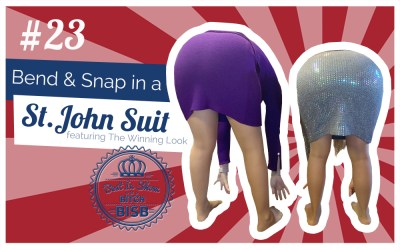 Bend and Snap in a St. John Suit -Episode TWENTY-THREE