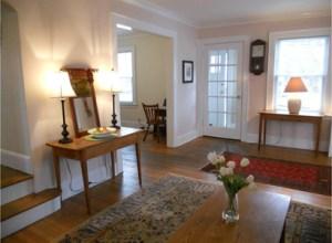 older colonial in millburn_living room_after staging