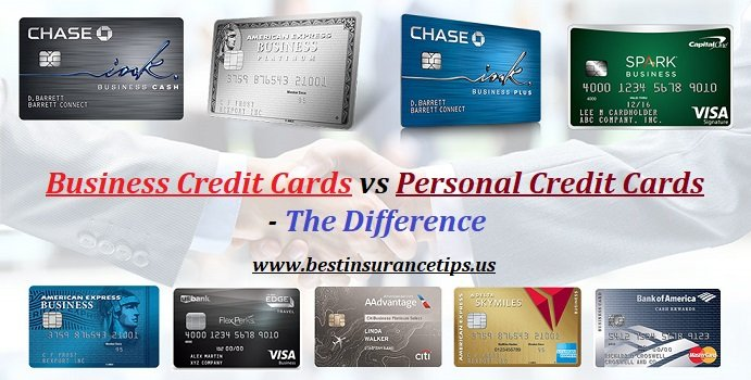 Business Credit Cards vs Personal Credit Cards - Difference - featured image