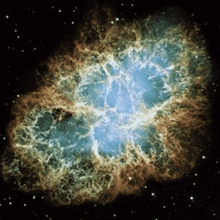The Crab Nebula. Sweet!