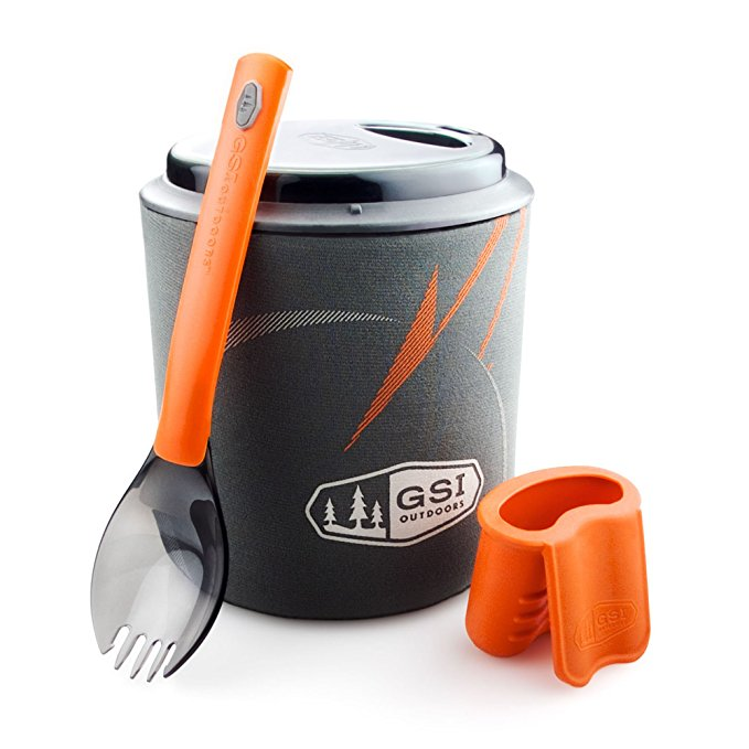GSI OUTDOOR HALUITE MICRODUALIST CAMP COOKING SET