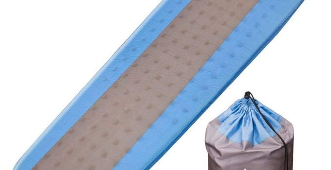 Self inflating lightweight foam pad