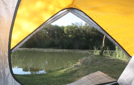 good camping site