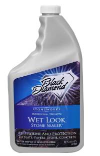 Black Diamond Stoneworks Wet Look Stone Sealer