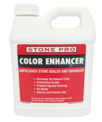 Stone Pro Color Enhancer - Unpolished Stone Sealer