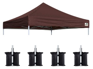 Eurmax New Pop Up Replacement Cocoa The Best Canopy For Craft Shows