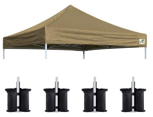 Eurmax New Pop Up Replacement Khaki The Best Canopy For Craft Shows