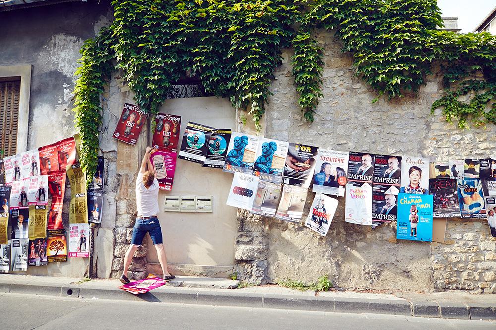 Affiches festival Avignon