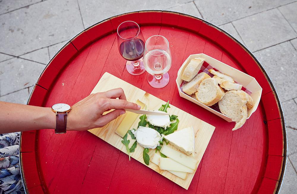 Bar à vin côtes du Rhone, Avignon
