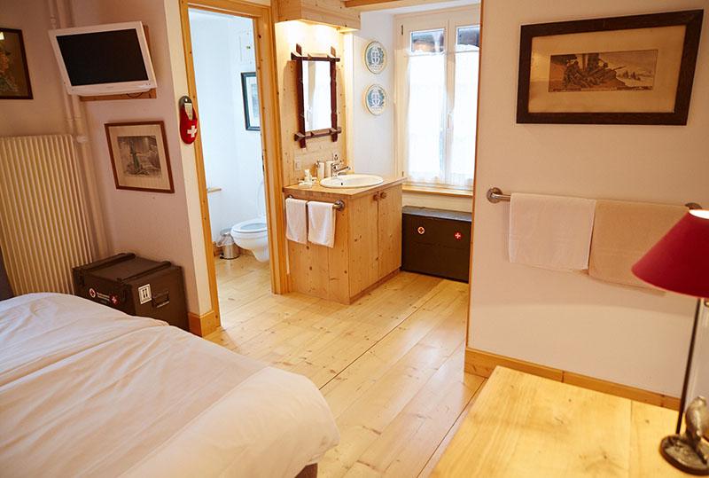 chambre hotel du Pillon
